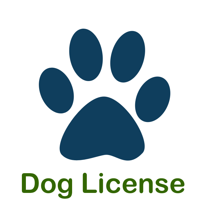 Dog License Icon