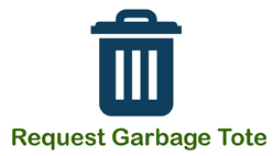 Request Garbage Tote Icon