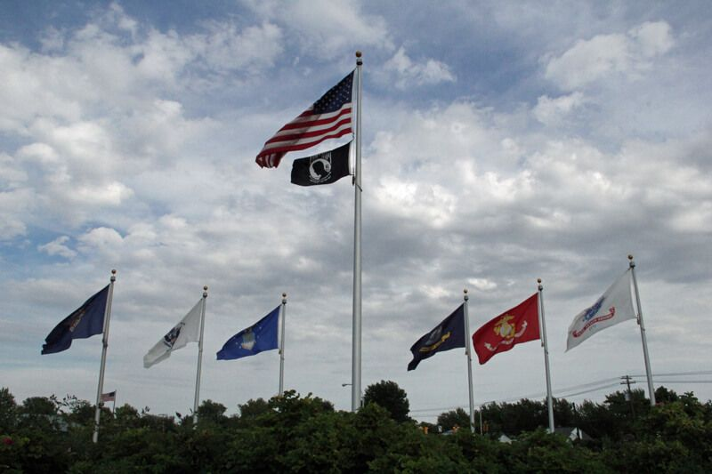 Veteran's Memorial Park Flags