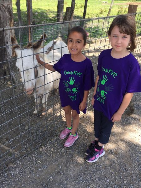 Kenmore Youth Center Kids Petting Animal